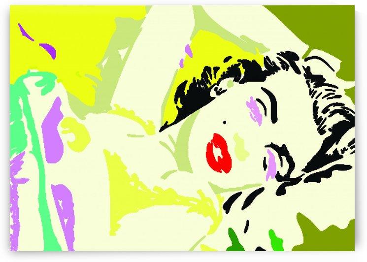 Marilyn Monroe Full Color by Gunawan Rb