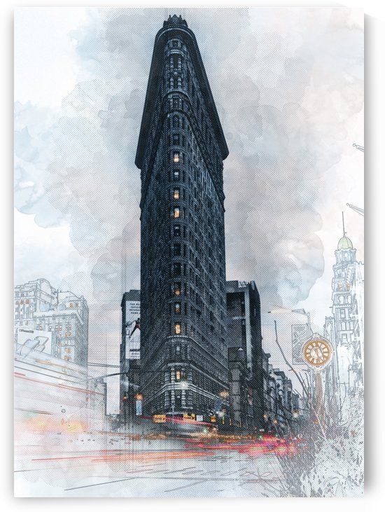 The Flatiron Building   New York by Gunawan Rb