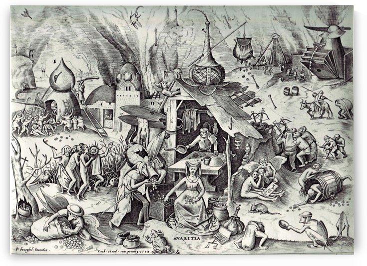 Greed by Pieter Brueghel the Elder
