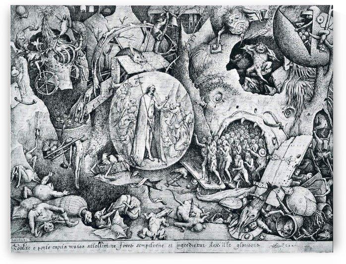 Jesus visiting Hell by Pieter Brueghel the Elder
