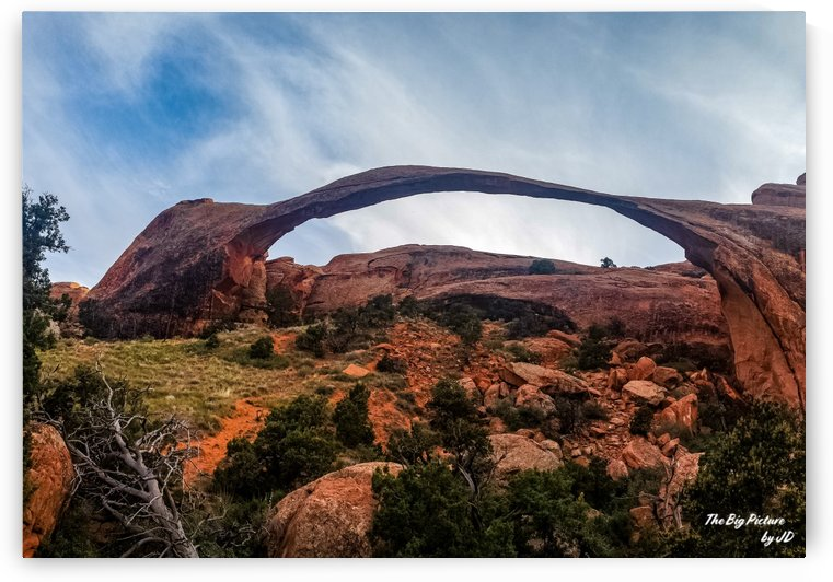 Arches National Park Landscape Arch by The Big Picture by JD