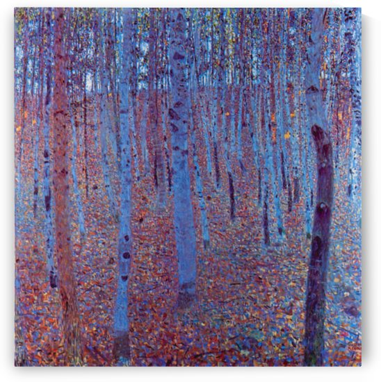 Beech Forest by Klimt by Klimt
