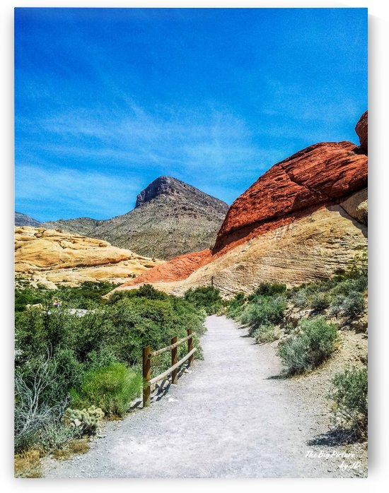 Red Rock Canyon Trail by The Big Picture by JD