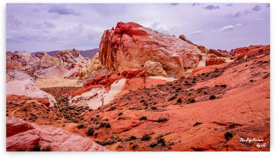 Valley Of Fire 2 by The Big Picture by JD