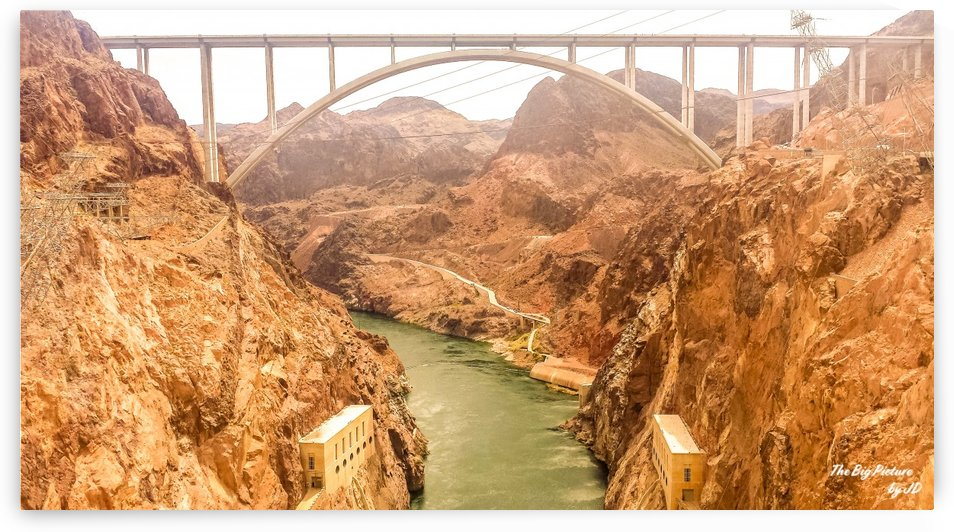 Mike OCallaghan–Pat Tillman Memorial Bridge by The Big Picture by JD