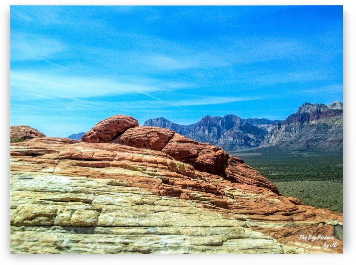 Red Rock Canyon Hill Top by The Big Picture by JD