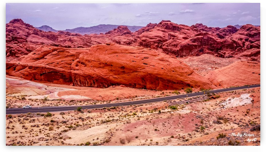 Valley Of Fire 6 by The Big Picture by JD