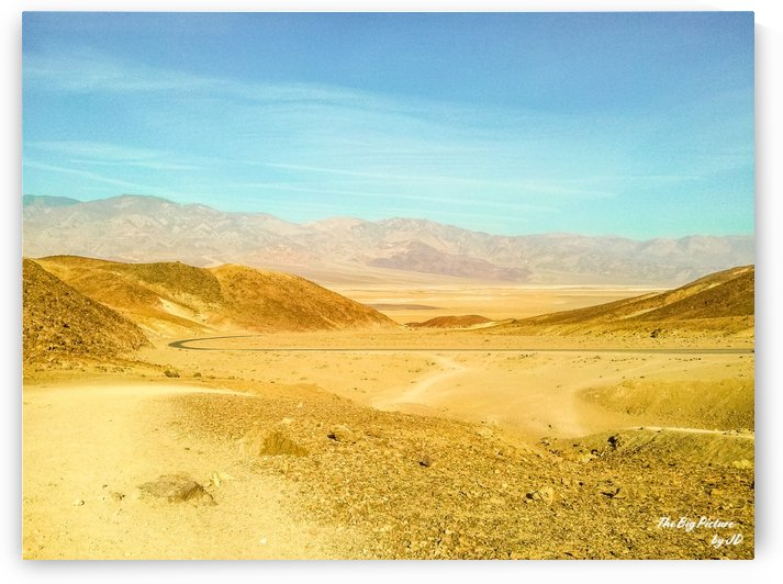 Death Valley Winding Road by The Big Picture by JD