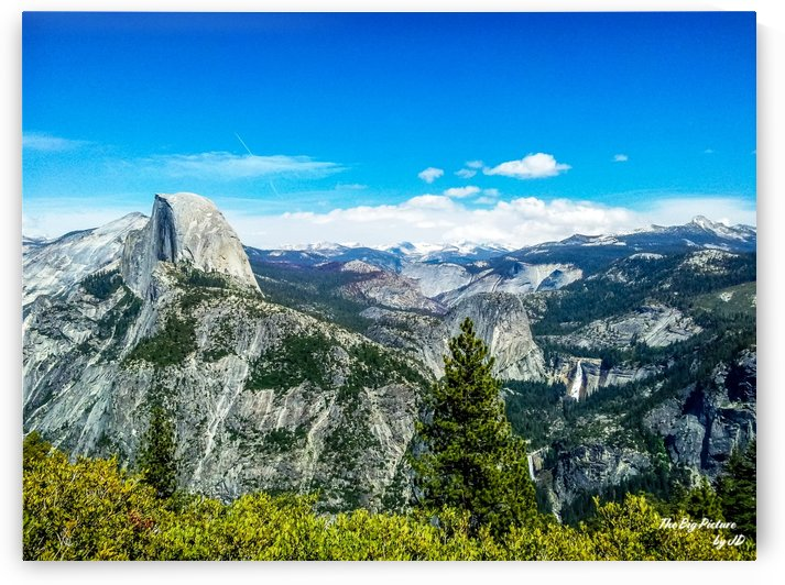 Glacier Point Yosemite Half Dome Vernal and Nevada Falls 2 by The Big Picture by JD