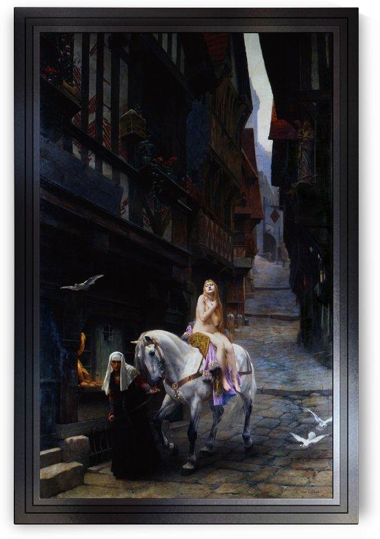 Lady Godiva by Jules Joseph Lefebvre by xzendor7