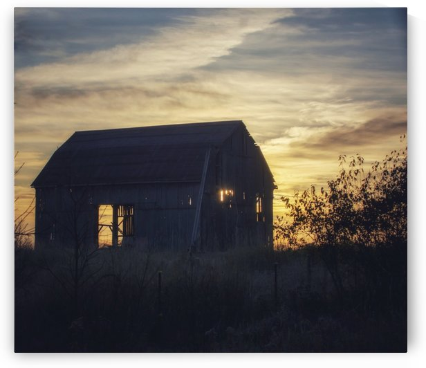 Sunrise on the Farm by Chris Couling