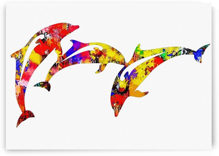 Dolphin by Gunawan Rb