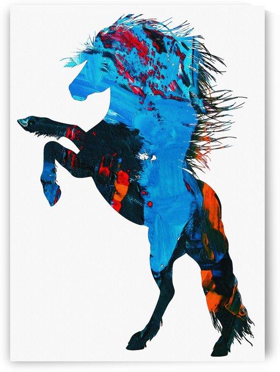 Jumping Horse by Gunawan Rb