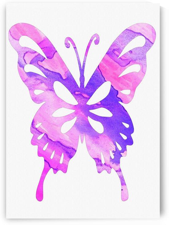 butterfly purple striated by Gunawan Rb