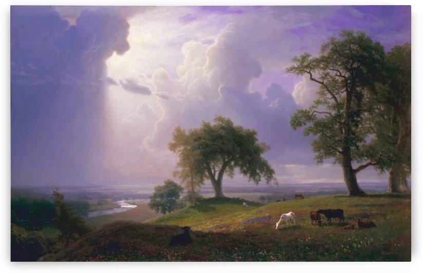 Bierstadt - California Spring by Bierstadt