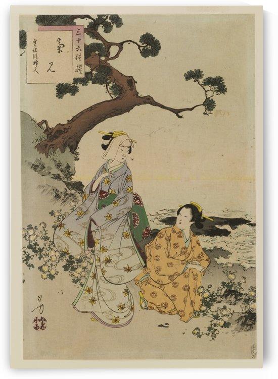 Sanjuroku sen ju by Mizuno Toshikata