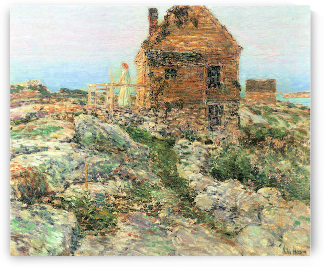 The Norwegian hut by Hassam by Hassam