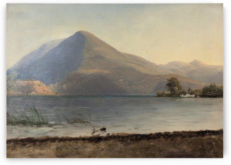 Bierstadt - On the Hudson by Bierstadt