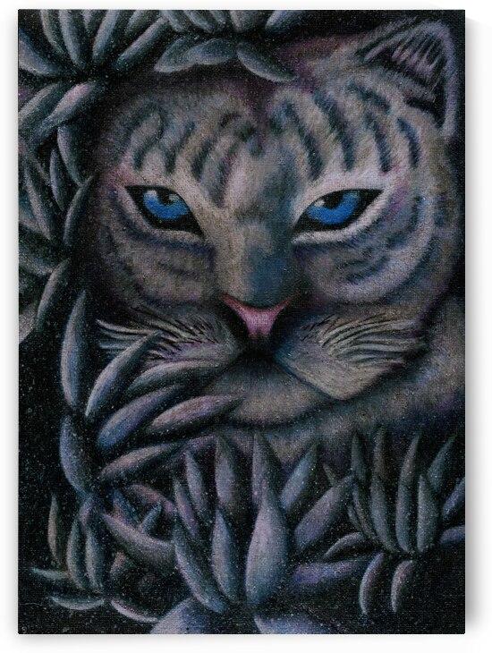 Leopard Of The Snow Lily by Jeremy Lyman