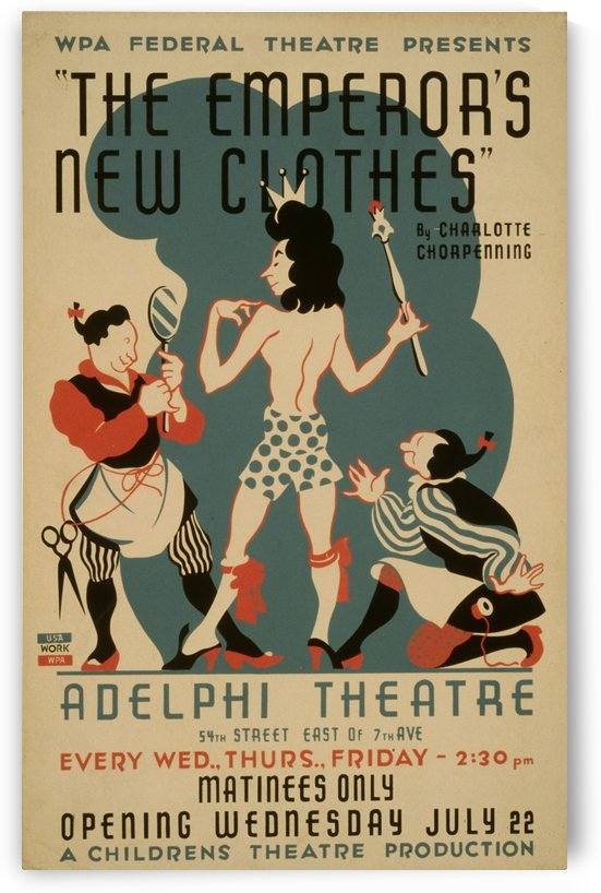 The Emperors New Clothes  by Culturio