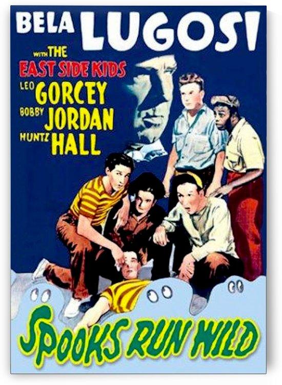 Spooks Run Wild 1941 Poster 1 by Culturio