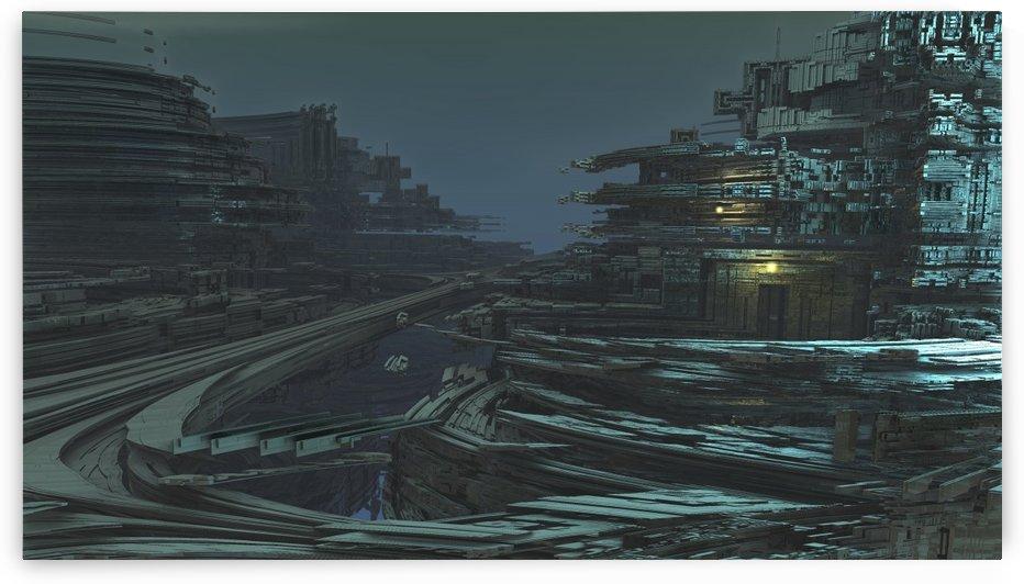Neo city  by Jean-Francois Dupuis by Jean-Francois Dupuis