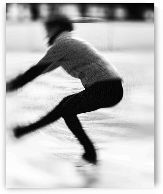 The Figure Skater by Dave Therrien