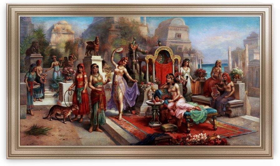 Hanging Gardens of Babylon by H. Waldeck by xzendor7