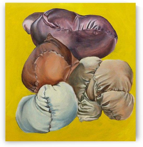 Mingling in Yellow by Julia Stewart