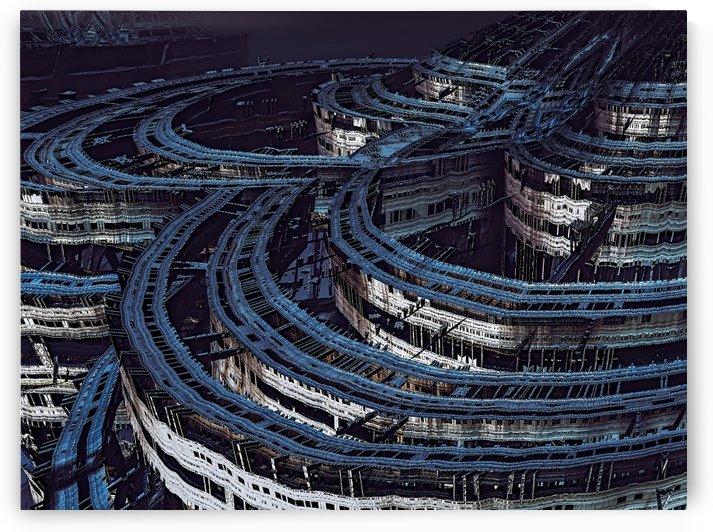 Space City by Jean-Francois Dupuis