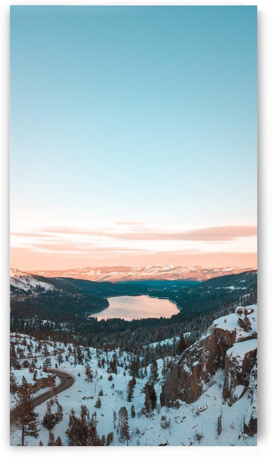 Sunset Over Donner by Ernesto Jimenez P