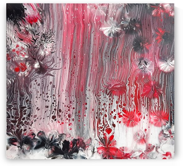 Red forest by Vanja Zanze