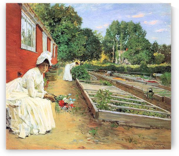 The nursery by William Merritt Chase by William Merritt Chase