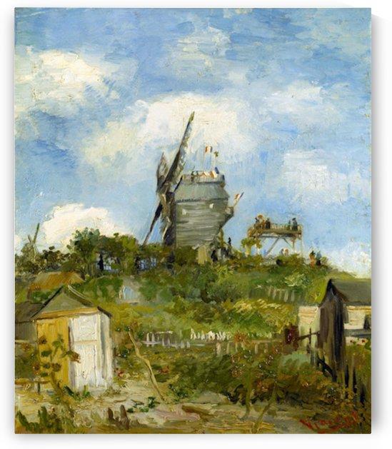 Blut Fin Windmill by Van Gogh by Van Gogh