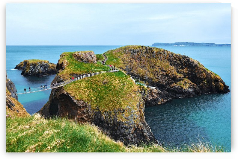 Carrick-a-Rede Rope Bridge Northern Ireland by Lexa Harpell