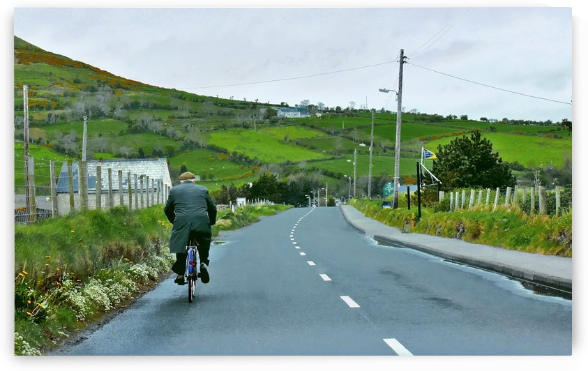 Gentleman Cycling in Northern Ireland by Lexa Harpell