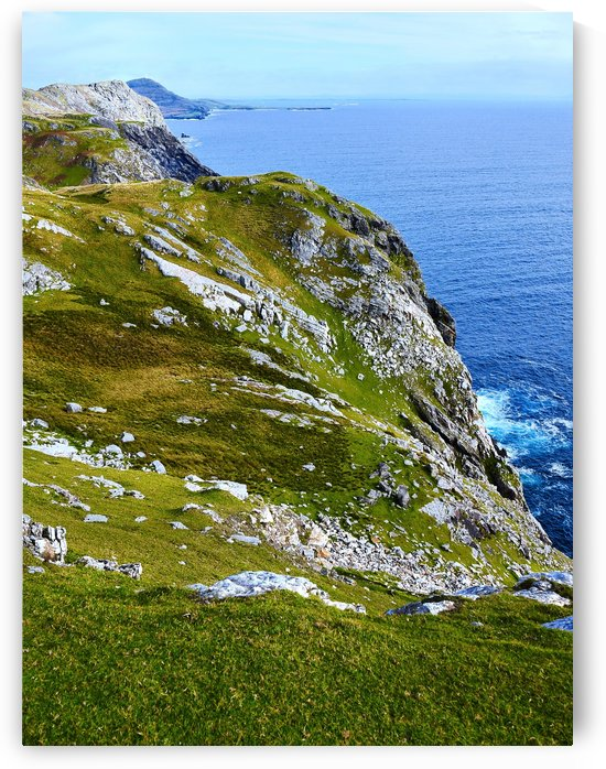 Sea Cliffs of County Donegal by Lexa Harpell