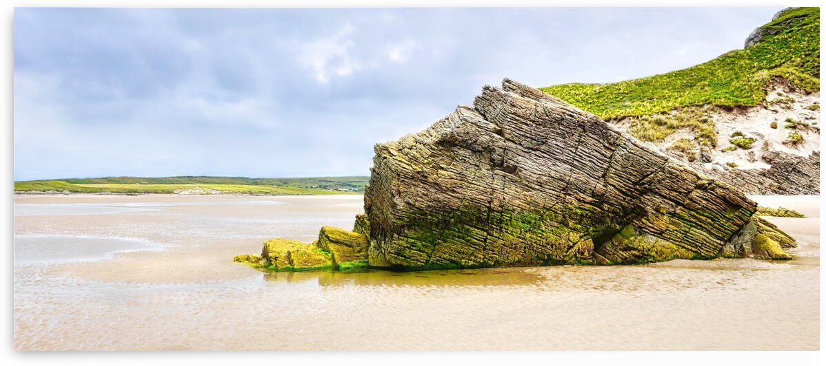 Rock Formations - Maghera Beach 6 by Lexa Harpell