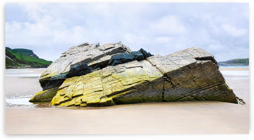 Rock Formations - Maghera Beach by Lexa Harpell