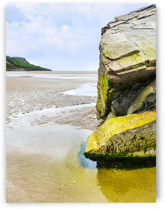 Rock Formations - Maghera Beach 2 by Lexa Harpell