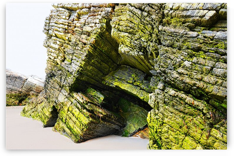 Rock Formations - Maghera Beach 8 by Lexa Harpell