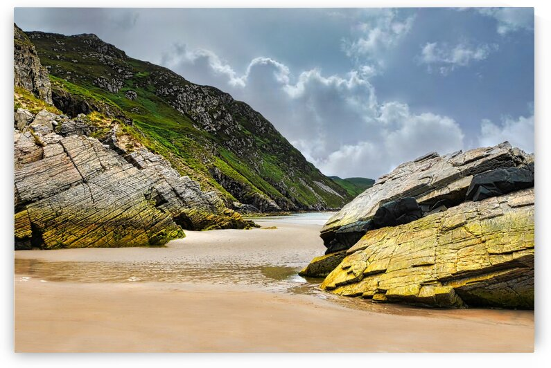 Rock Formations - Maghera Beach 3 by Lexa Harpell