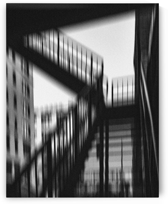Iron Staircase by Dave Therrien