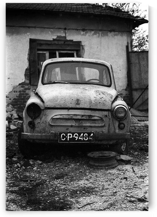 Abandoned ZAZ 965  USSRs replica of FIAT 600 by Stefan Kutsarov