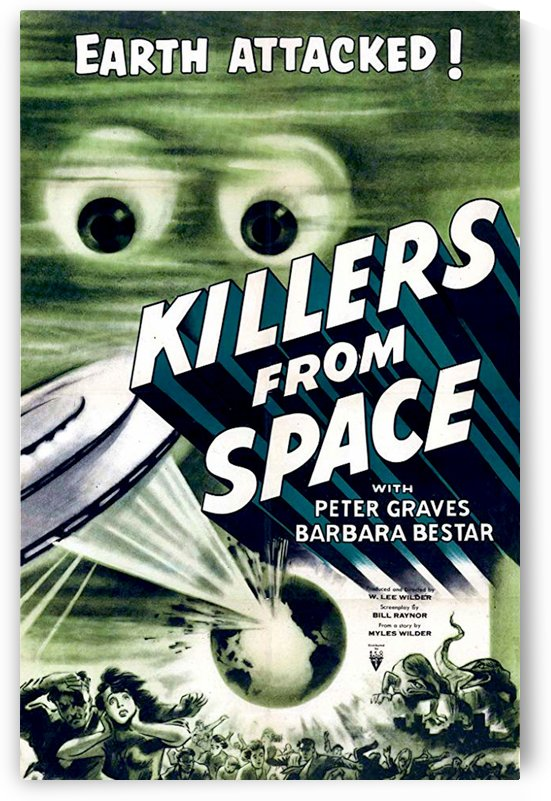 Killers from Space 1954 by Culturio