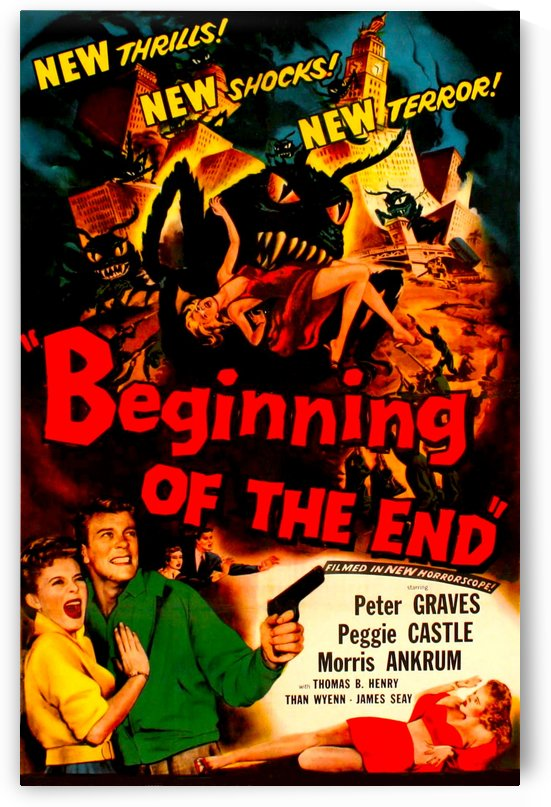 Beginning of the End 1957 by Culturio