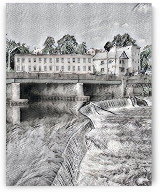 Bridge over the Falls  by Bob McCulloch
