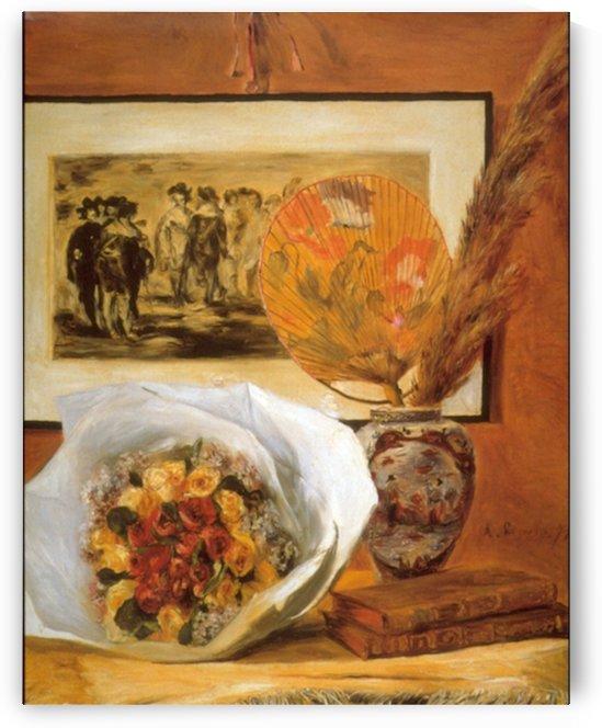 Bouquet by Renoir by Renoir