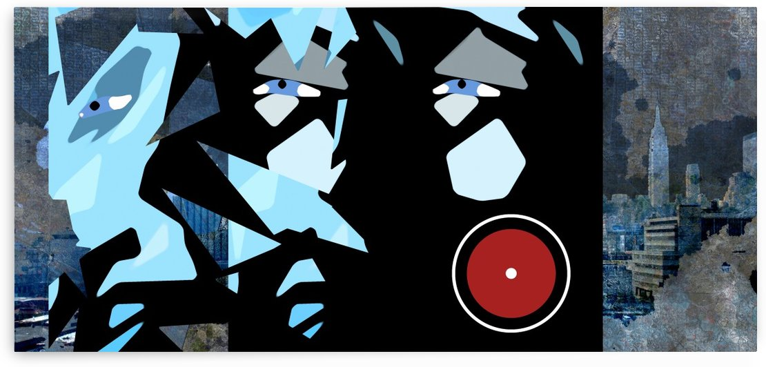NYC Modern Grunge by Bruce Rolff