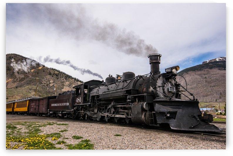 Durango to Silverton by Aurelio Matthew Leal